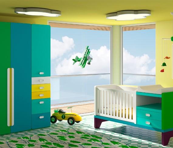 Mueble de dormitorio infantil y juvenil mg estudio ourense for Muebles dormitorio infantil juvenil